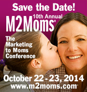 Save the date for the 10th M2Moms: Oct 22 & 23,  2014 m2moms.com